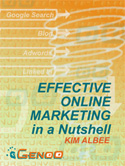 Effective Online Marketing In A Nutshell Booklet by Kim Albee