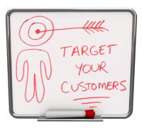 segment, target, and follow-up with leads
